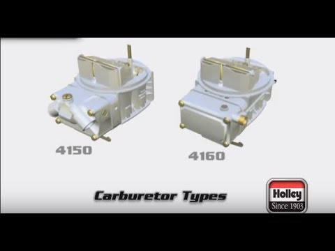 Holley Four Barrel 4150 and 4160 Carburetors Explained