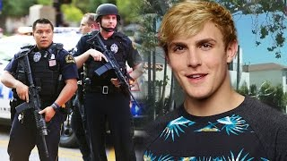 HATERS VANDALIZE Jake Paul's House! Police SEARCH for Vlogger? SourceFed Gets TAKEN OVER!