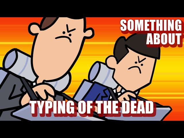 Something About The Typing of the Dead ANIMATED (Loud Sound Warning) ⌨️💀 thumbnail