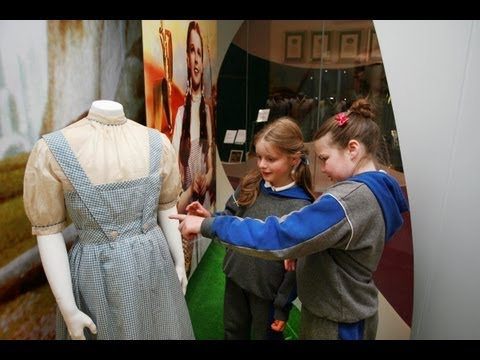Judy Garland's original Wizard of Oz costume in Ireland
