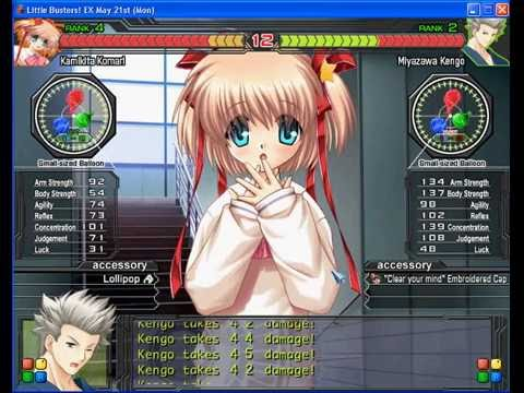 Little Busters ex Komari vs