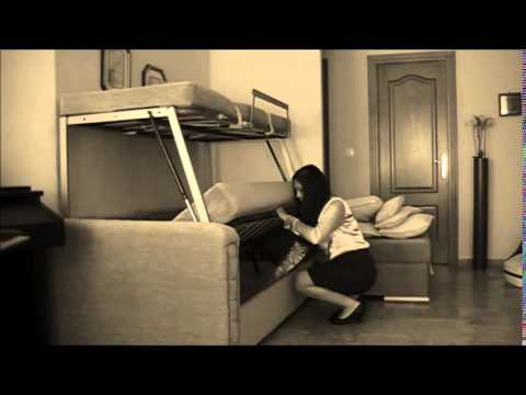 Convertible Couch In Bunk Bed Youtube