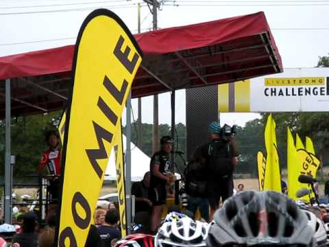 Lance Armstrong @ 2010 Austin Livestrong Challenge