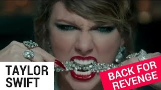 "Taylor Swift Gets VENGEFUL in ""Look What You Made Me Do"""