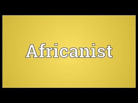 Header of Africanist