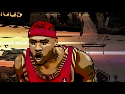 NBA 2k13 MyCAREER Playoffs - Crazy Stats From Neal Bridges in ECF Game 2 ft Derrick Rose