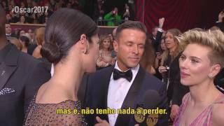 #Oscar2017 | Entrevista com Scarlett Johansson