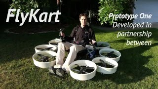 FlyKart Prototype One - Maiden Flight Testing