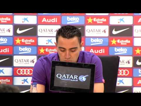 Xavi: It's time to go