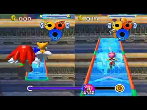 Sonic vs Amy Rose on Sonic Heroes Gameplay HD