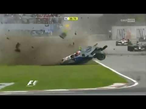F1 - Wypadek Kubicy