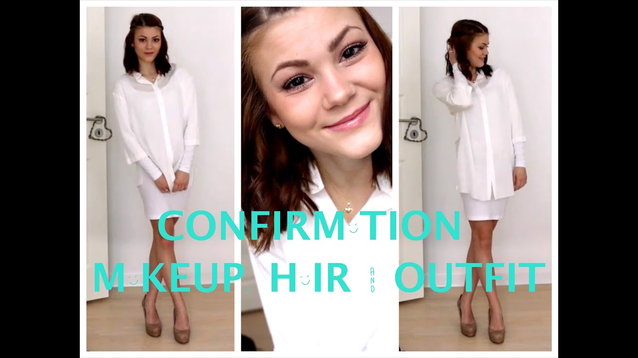 Confirmation Makeup Hair Amp Outfit Collab With Ida
