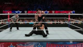 The Undertaker vs. Roman Reigns - WWE WrestleMania 33 - 2K17 Simulation