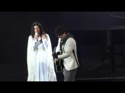 Laura Pausini - Celeste - A ella le debo mi amor - GEBA - Bs. As. - Argentina - 03/09/2016