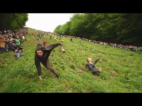 Gloucester Cheese Rolling 2012 OFFICIAL - World's Stupidest Competition