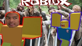 Running Zombies!! Ft. Roi( Guava Juice)! |Roblox#1