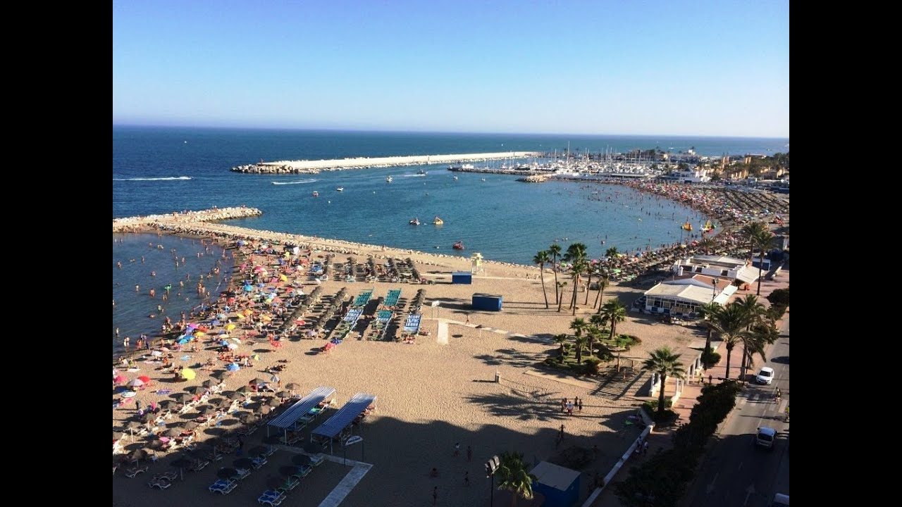 Fuengirola Spain  city pictures gallery : Fuengirola Beach Spain YouTube
