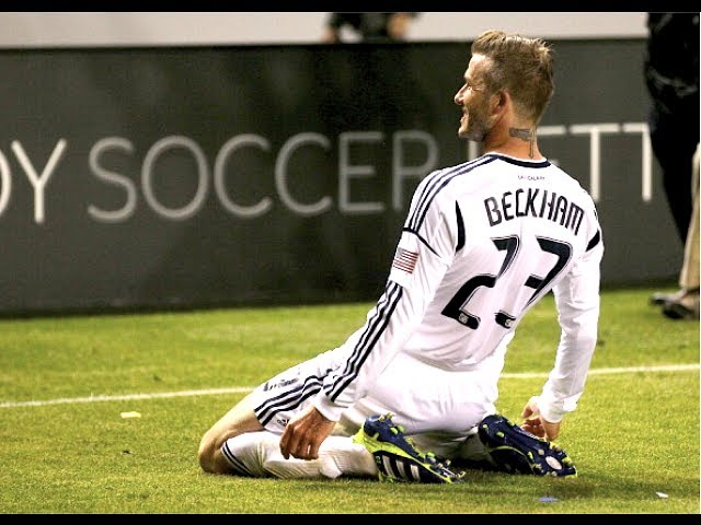 David Beckham&#039;s Best MLS Goal?