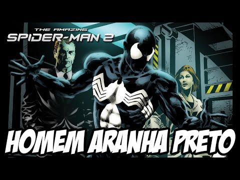 The Amazing Spider Man 2 - Homem Aranha Preto