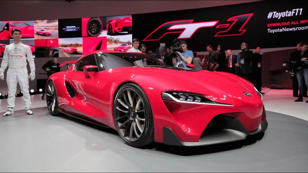Toyota FT-1 Concept - 2014 Detroit Auto Show - YouTube