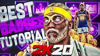 NBA 2K20 DEMIGOD 🧀 | BEST BADGES in NBA2K20 for every BUILD, POSITION & ARCHETYPE | WORST BADGES