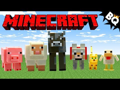Minecraft Animal Mobs Series 2 Pack Jazwares Review