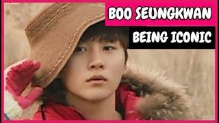 Boo Seungkwan Being Iconic [Seventeen]