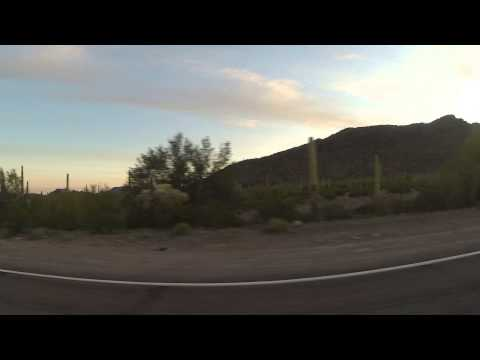 Arizona State Route 86 Highway Eastbound toward the Gu-Achi, Trading Post, GP016828