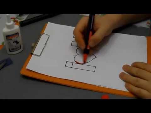 Видео как нарисовать открытку маме