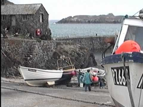 Poldhu Cove and Mullion Harbour, Cornwall 1990