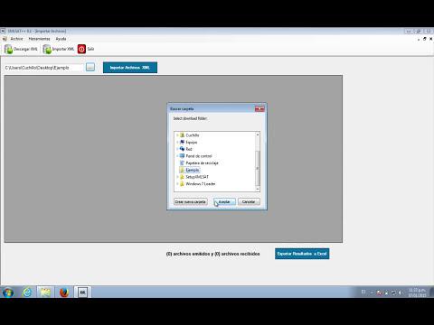 Descarga masiva de archivos XML desde el portal del SAT.