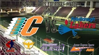 MSL Finals, Game 7: Six Nations vs Peterborough - Saturday, September 3rd, 2016 -  7pm