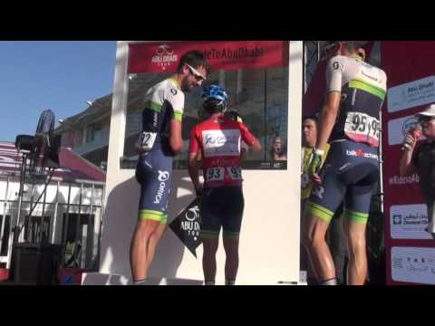 Abu Dhabi Tour   Last Stage by RCS Sport © VIDEO CREDIT: ANSA / MENTUCCIA