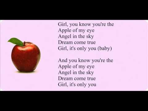 Micah G-Apple Of My Eye Lyrics - YouTube