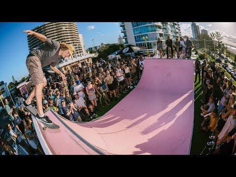 Volcom Pink Hotel | RAW Skate Footage