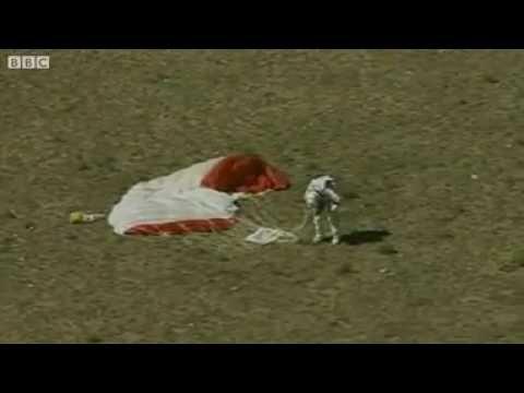 IN FULL: Daredevil Skydiver Felix Baumgartner Breaks Records (Red Bull Stratos Space Jump)