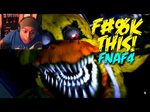 HELL F#%K NO!!! [FIVE NIGHTS at FREDDY'S 4] [GAMEPLAY] [NIGHT 1-2]