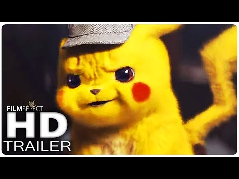POKEMON Detective Pikachu Trailer (2019)