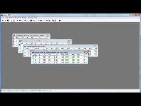 Ediplin: Modello geotecnico di un plinto superficiale su pali in C.A. (parte 3)