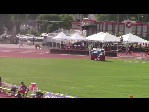 Florida Track and Field - Eric Futch - 2016 Out SEC 400m Hurdles