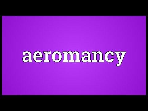 Header of aeromancy