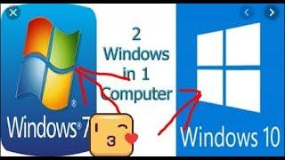 2 profile in 1 PC in windows 7/8/10.