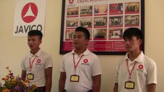 Phỏng vấn đơn hàng giàn giáo ngày 9/10/2017 công ty Javico  phần 1