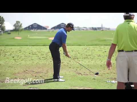 Retief Goosen Swing (Side and Back) @ 2009 US PGA Video