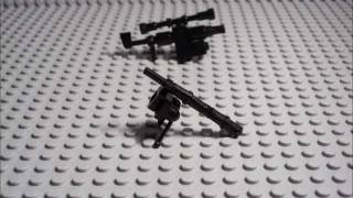 How to build a lego sniper rifle (M200 Intervention)