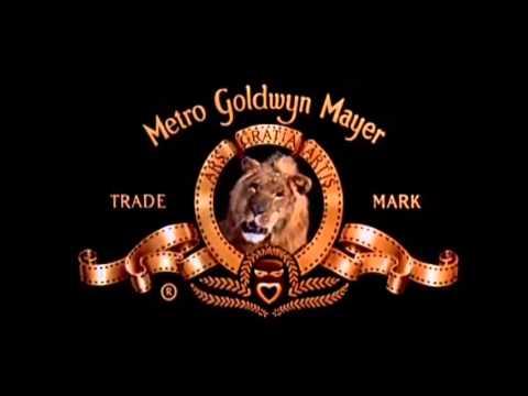 the old school metro goldwyn mayer lion roar intro mgm