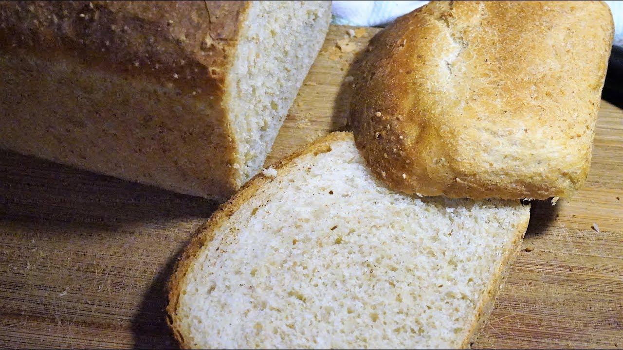 Пшенично ржаной хлеб в домашних условиях в духовке рецепт