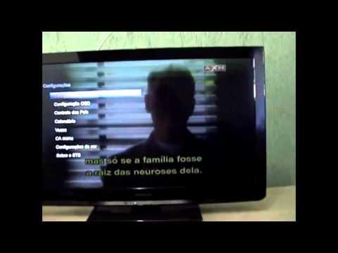 AzAmerica S1001 HD funcionando em SKS/IKS