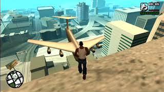 GTA San Andreas Plane Crash Into Building Mod