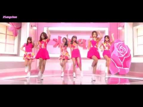 [HD] 'Mr. Chu' [미스터 츄] (Mirrored Dance Compilation)   A Pink [에이핑크]